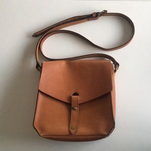 Madewell brown leather purse
